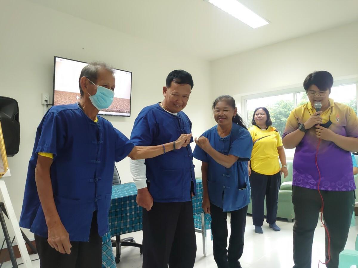 กิจกรรมของโรงเรียนผู้สูงอายุตำบลกระเบื้องใหญ่ รุ่นที่ 4/2563 ในวันที่ 23 กันยายน 2563